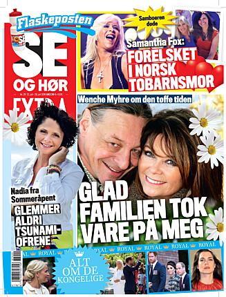 I SALG NÅ: I nyeste nummer av Se og Hør Extra kan du lese mer om Alexander Rybak. Foto: Se og Hør