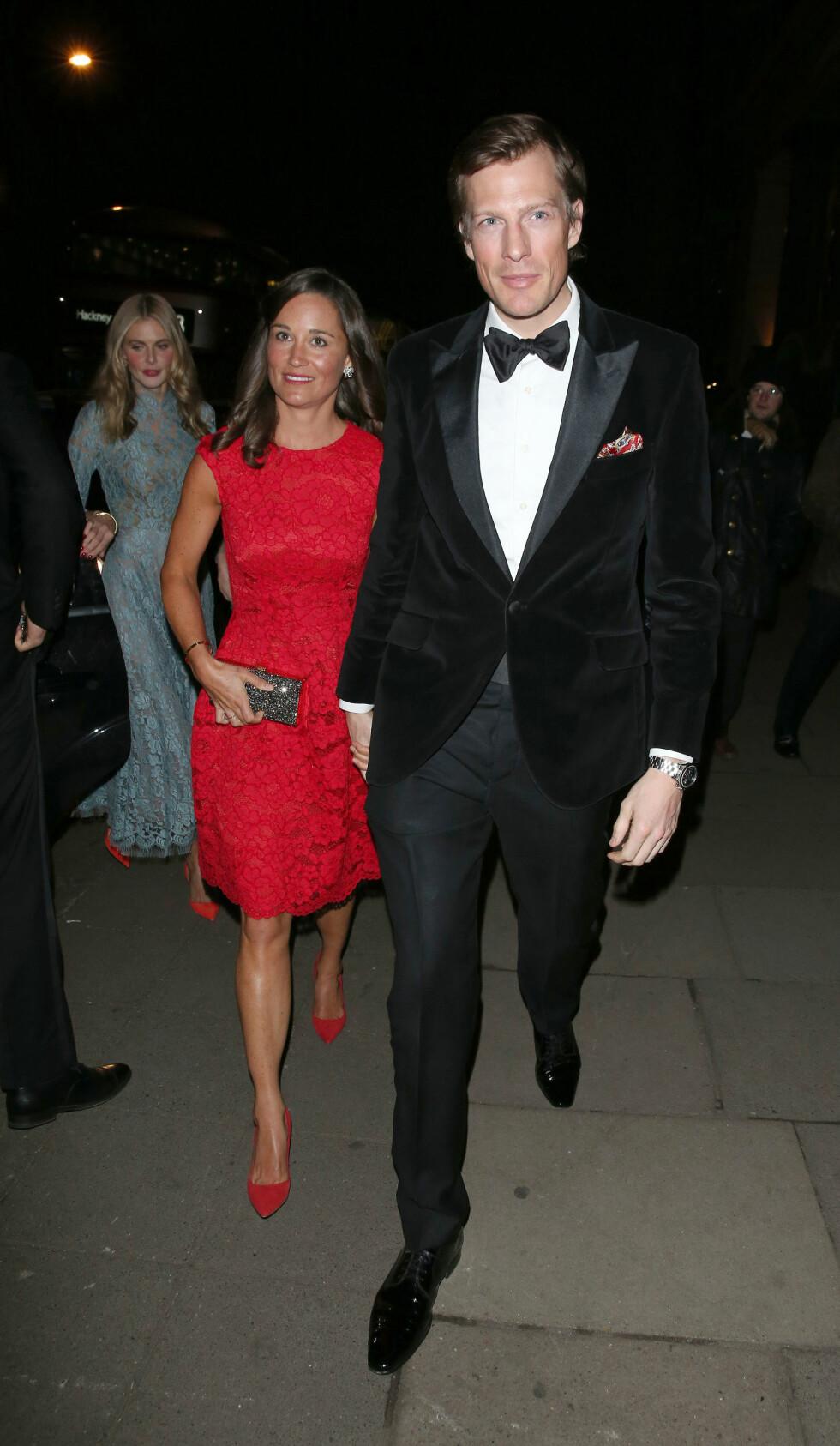 EKSEN: Pippa Middleton var sammen med Nico Jackson i omlag tre år, og ryktene gikk om at de to var forlovet. Forholdet tok imidlertid slutt før det ble noe bryllup.  Foto: Xposure