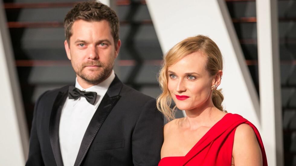 SLUTT: Etter ti år som par har Joshua Jackson og Diane Kruger gått hver sin vei. Foto: wenn.com