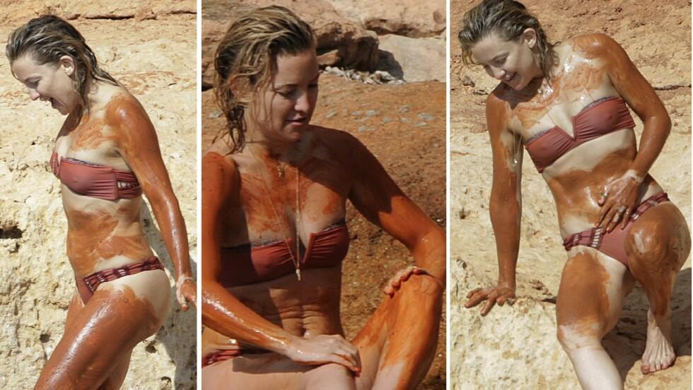 INNSMURT I GJØRME: Det er ingen tvil om at Kate har en misunnelsesverdig kropp. Om tre år fyller hun 40. Foto: NTB Scanpix