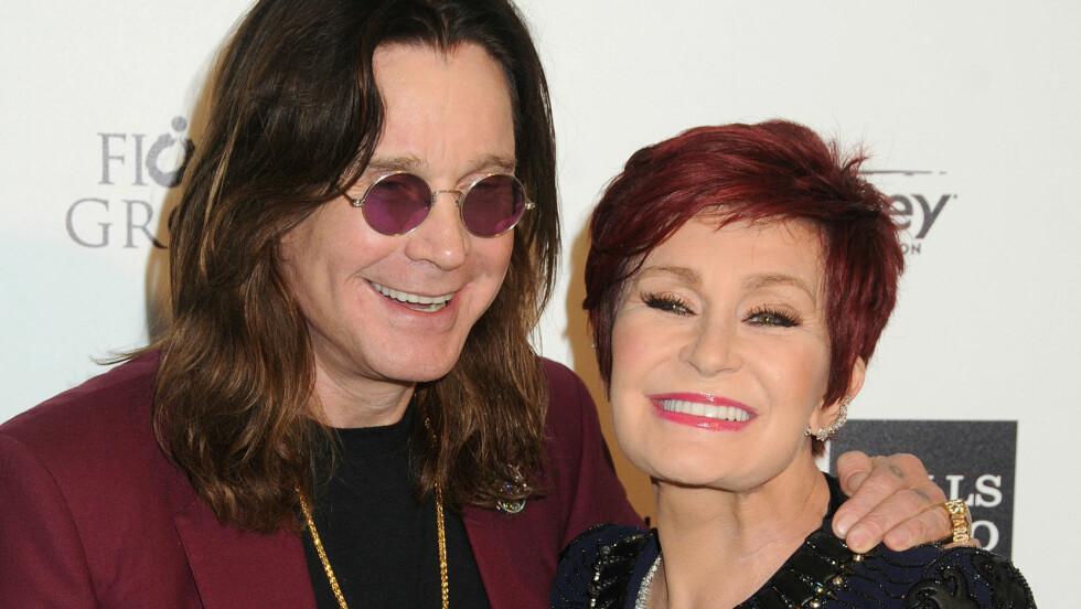 PRØVER IGJEN: Sharon Osbourne skal ha valgt å gi Ozzy Osbourne en ny sjanse.  Foto: SipaUSA