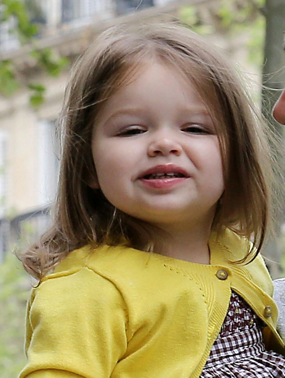 SKJØNN: Lille Harper Seven ligner på sin mor. Foto: FameFlynet Sweden