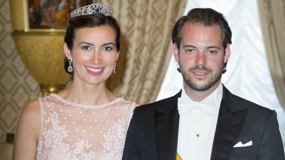 GRAVID IGJEN: Mandag annonserte prinsesse Claire og prins Félix at de venter sitt andre barn sammen.  Foto: DPA