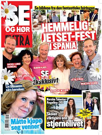 LES MER: I ukens Se og Hør Extra kan du lese om blant andre Norske Talenter-Angelina og om Liv Ullmanns såre barndom.  Foto: Faksimile Se og Hør