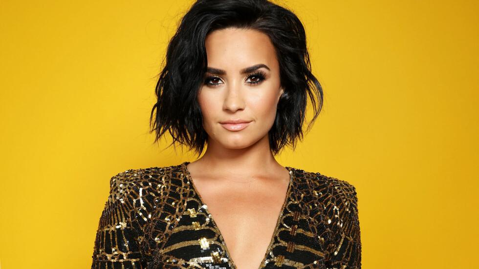 VANSKELIG OPPVEKST: I et nytt intervju forteller Demi Lovato åpenhjertig om hvordan hun slet med spiseforstyrrelser og selvskading som barn. 23-åringen røper at hun en periode fryktet at hun ikke ville rekke å fylle 21 år engang. Foto: Rex Features