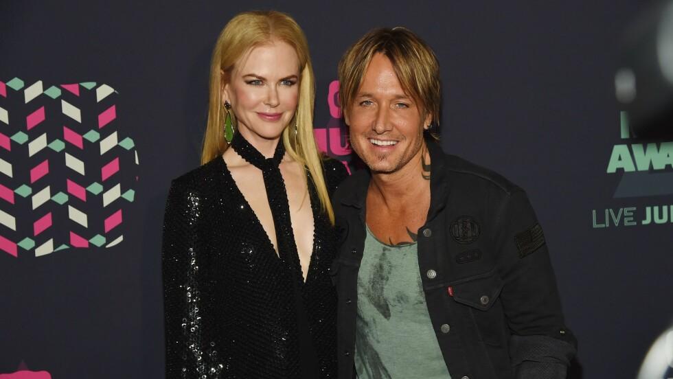 GOD STØTTE: Keith Urban har mange ganger skrytt sin kone Nicole Kidman opp i skyene for hvordan hun har stilt opp for ham gjennom tykt og tynt.   Foto: NTB Scanpix