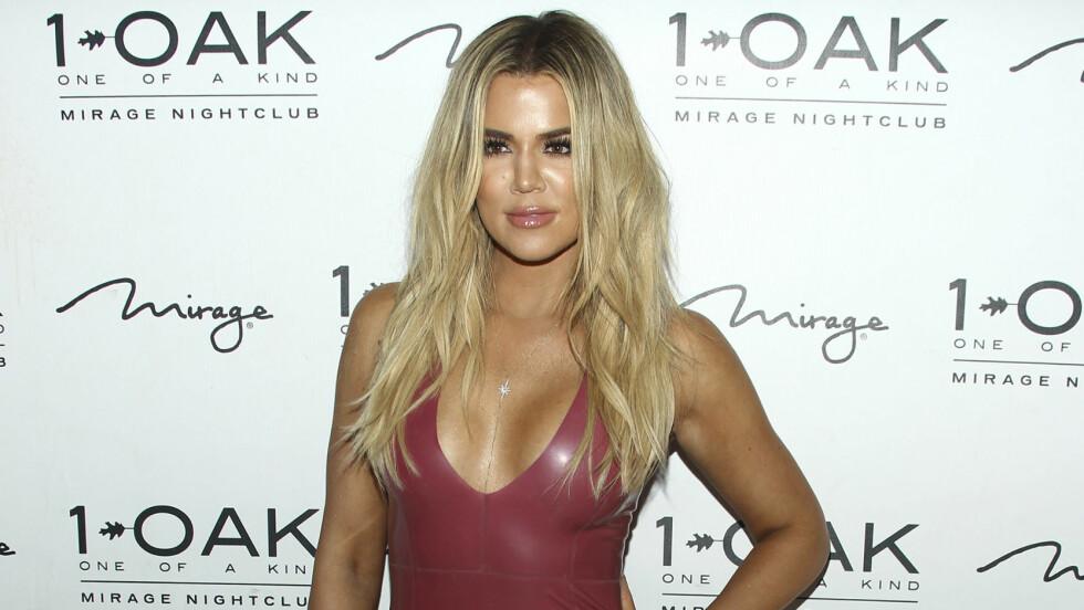 BROREN FLYTTET UT: Khloe Kardashian innrømmer at det er negative og positive sider ved å bo alene. Tidligere bodde broren Rob sammen med henne.  Foto: SipaUSA