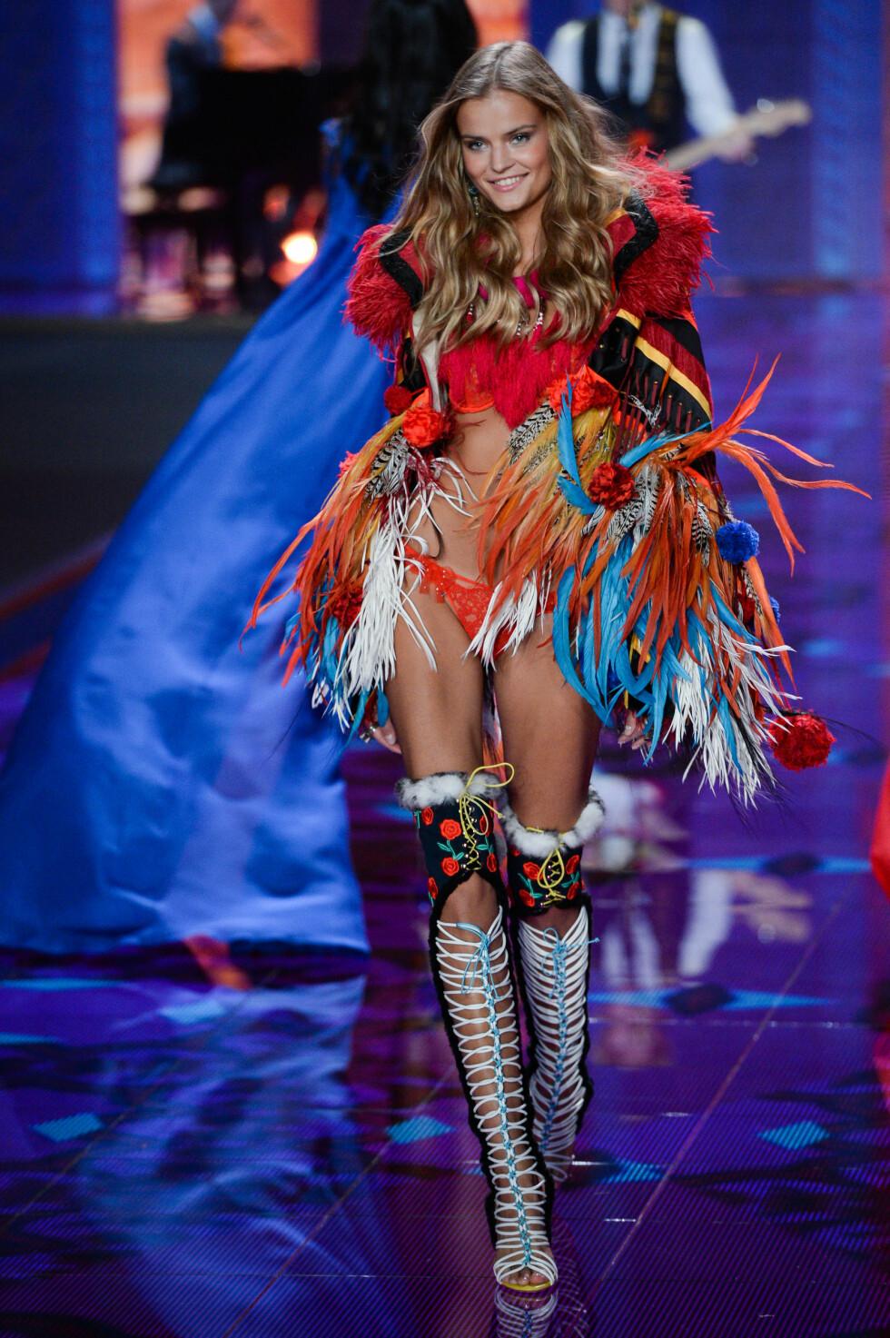 NR. 1: Kate Grigorieva er en 25 år gammel russisk modell, som var blant finalistene i Miss Russia 2012. Samme år kom hun på annenplass i «Russia's Next Top Model».  Foto: Abaca