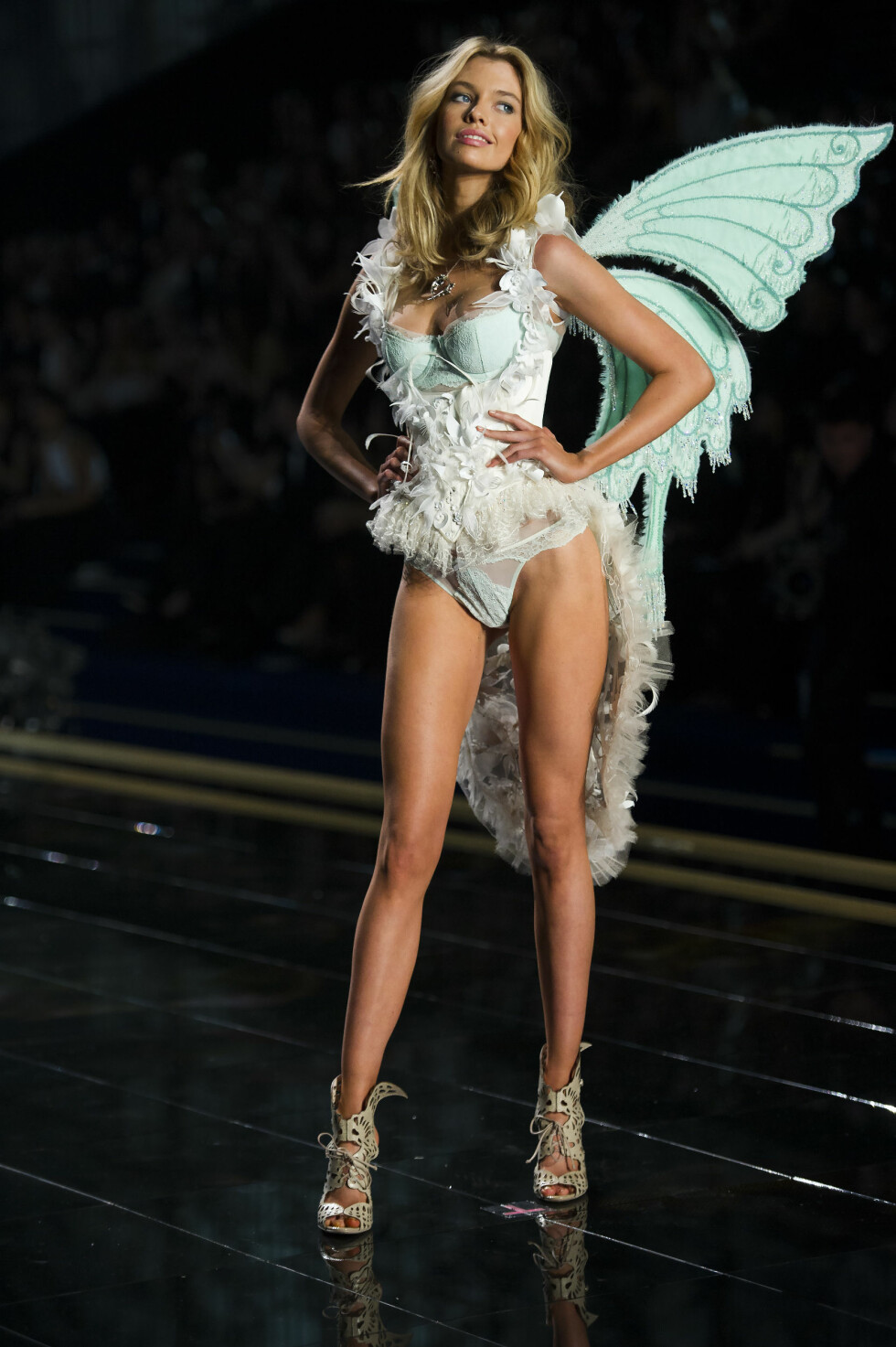 NR. 6: Stella Maxwell er en 23 år gammel nord-irsk modell, som vokste opp i Belgia, Australia og New Zealand. Foto: SipaUSA