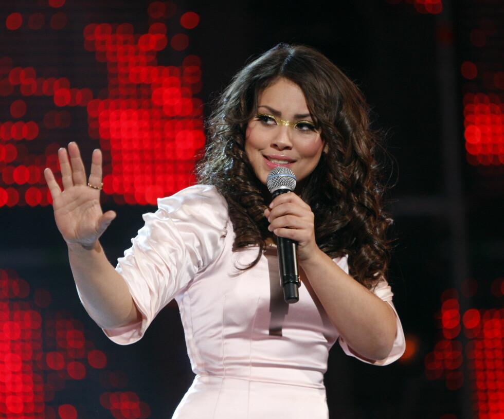 GODE MINNER: Et av Miras høydepunkt i karrieren var da hun i 2010 var blant deltakerne i Melodi Grand Prix med låten «I'll Take You High». Foto: NTB scanpix