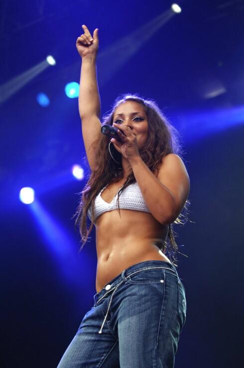 TI ÅR SIDEN: Mira Craig ble fort en populær artist etter hun debuterte som musiker i 2006. Her spiller hun på Quartfestivalen samme år.  Foto: Aftenposten/ NTB Scanpix