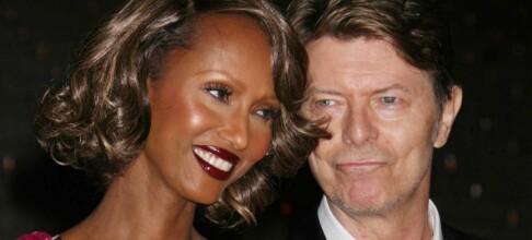 Iman mintes David Bowie på bryllupsdagen