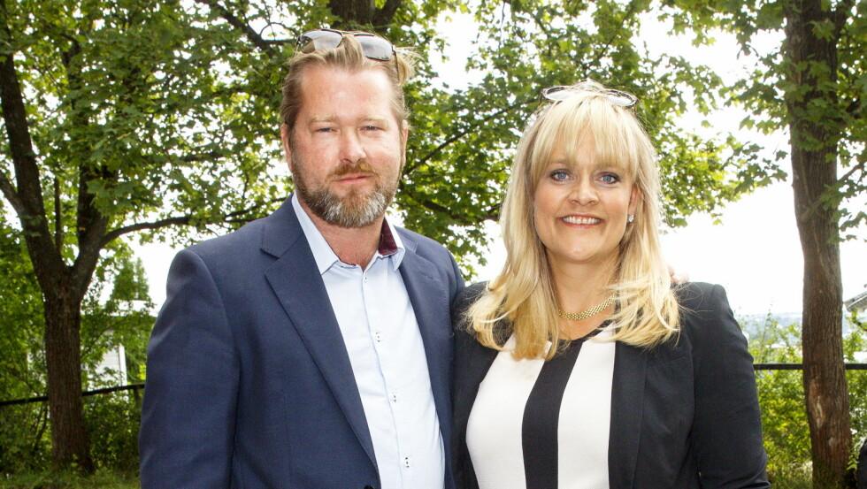 STJERNEPAR: Ekteparet Fridtjov Såheim og Henriette Steenstrup har blant annet spilt sammen i «Nårje» og «Lilyhammer».   Foto: Andreas Fadum