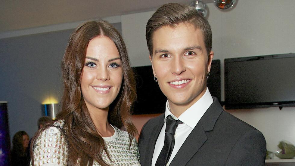 LIKE LYKKELIGE: Cathrine Eide og Atle Pettersen møttes i 2011 og har siden den gang vært et par.  Foto: Se og Hør