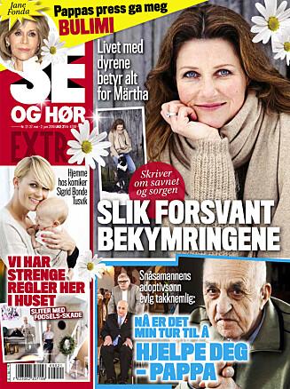 LES MER: I nyeste nummer av Se og Hør Extra kan du lese mer om Guri Solberg. Foto: Se og Hør