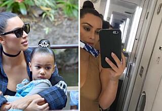 Kim kjøpte tre graviditetstester i panikk