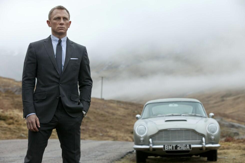 <strong>NEST SISTE FILM:</strong> James Bond-filmen «Skyfall» kom ut i 2012, og var den tredje og nest siste filmen der skuespiller Daniel Craig spilte den britiske agenten.  Foto: COLUMBIA PICTURES / NTB Scanpix