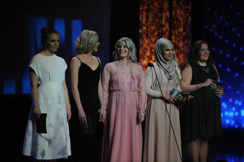 VANT PRIS: «Skam» vant prisen for «Beste nye programserie». Foto: TV 2