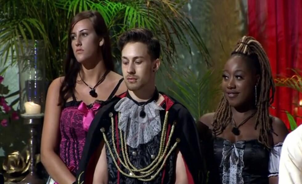 RETT UT: Celester Adjete ble dessverre ikke valgt da Daniel måtte velge mellom henne og Mikela Beckovic.