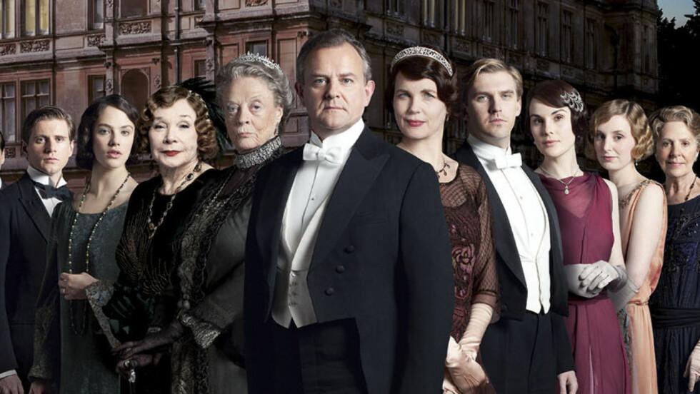 KOBLES TIL LUKSUSPROSTITUERT: Flere internasjonale medier har navngitt Downton Abbey-stjernen Hugh Bonneville som skuespilleren som skal ha kjøpt sex av den tidligere luksusprostituerte kvinnen Helen Wood. Foto: Pa Photos