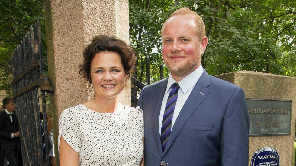 BABYJUBEL: Steinar og Catrin har blitt foreldre. Foto: Tor Lindseth/Se og Hør