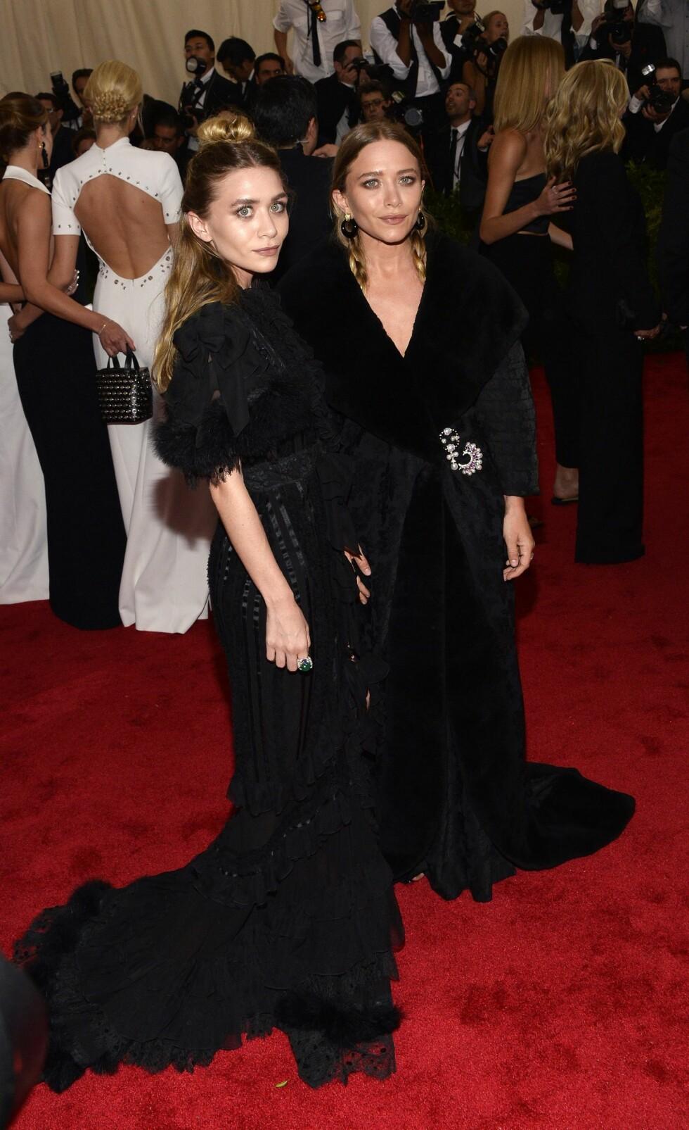 Mary-Kate og Ashley Olsen. Foto: Epa