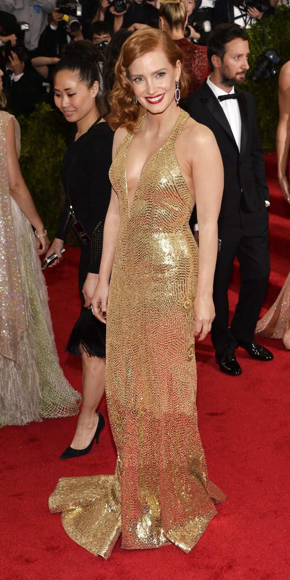 Jessica Chastain. Foto: Epa