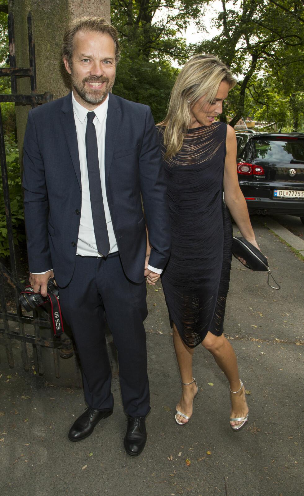 OGSÅ NYGIFT: Christian Skolmen og Isabel Ødegård giftet seg forrige helg. Da var det Trond og Lena Kristin som var bryllupsgjester!  Foto: Tor Lindseth
