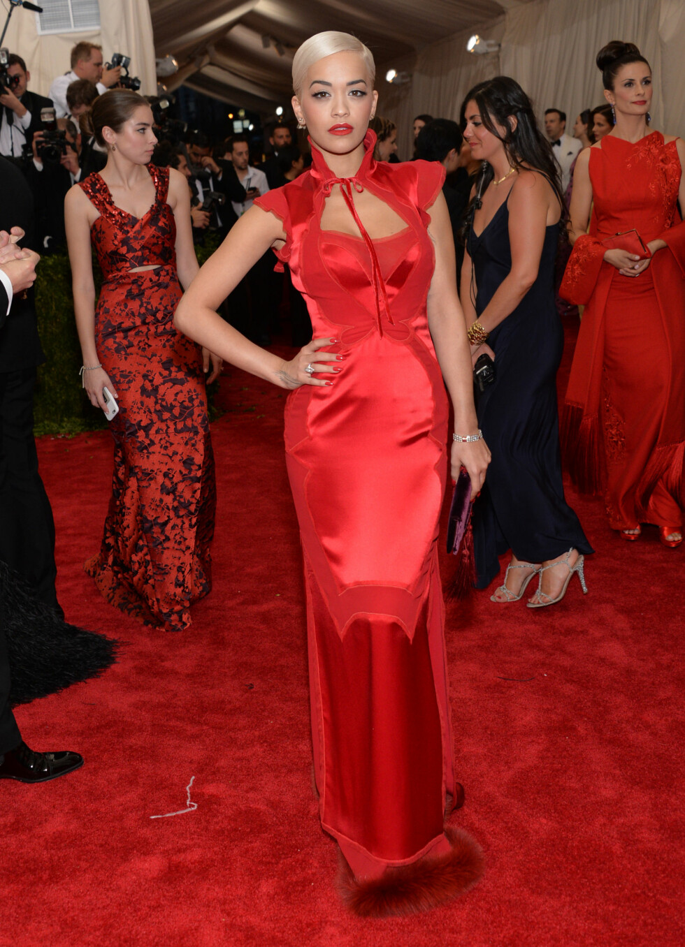 Rita Ora. Foto: Ap