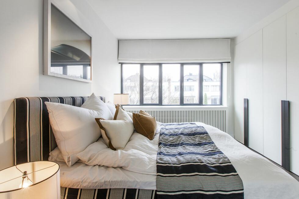 SOVEROM: Boligen Jan Fredrik Karlsen selger har hele fire soverom, der alle har praktiske garderobeløsninger.  Foto: HouelandEk.com