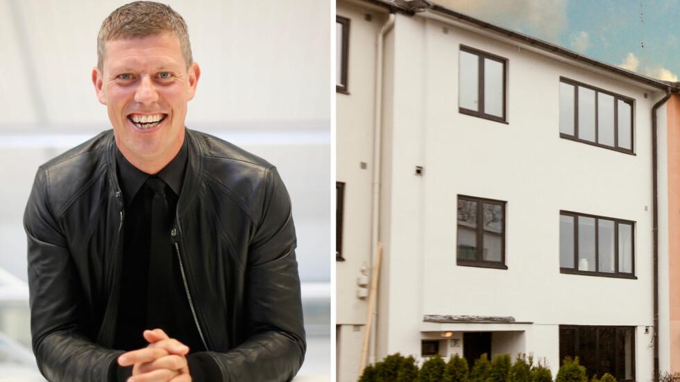STILIG BOLIG PÅ FROGNER: Jan Fredrik Karlsen selger sin luksusbolig på Skarpsno i Oslo, som ligger i den attraktive bydelen Frogner.  Foto: NTB scanpix / HouelandEk