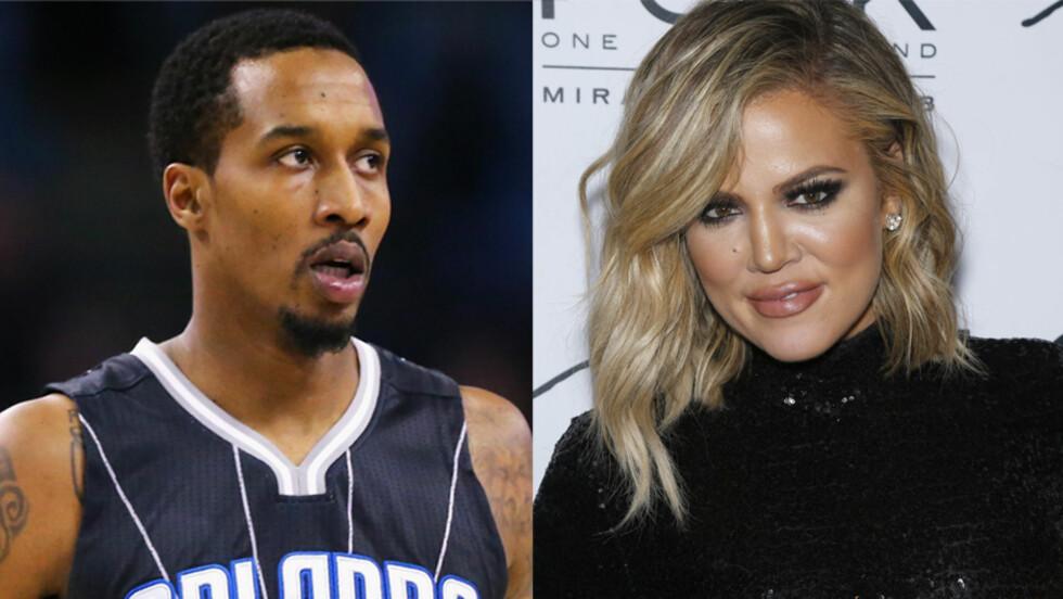 PÅ DATE: Søndag spiste Khloé Kardashian middag med basketballspilleren Brandon Jennings i Malibu. Realitystjernen er for tiden singel, men går gjennom en skilsmisse fra en annen basketballstjerne - Lamar Odom.  Foto: NTB Scanpix