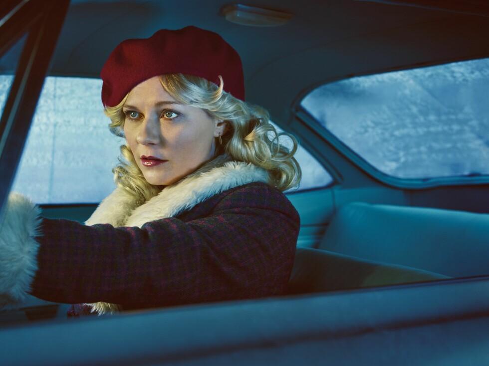 TV-AKTUELL: Før jul var Kirsten Dunst å se i sesong to av TV-serien «Fargo», der hun spilte rollen som Peggy Blumquist.  Foto: MGM TELEVISION / NTB Scanpix