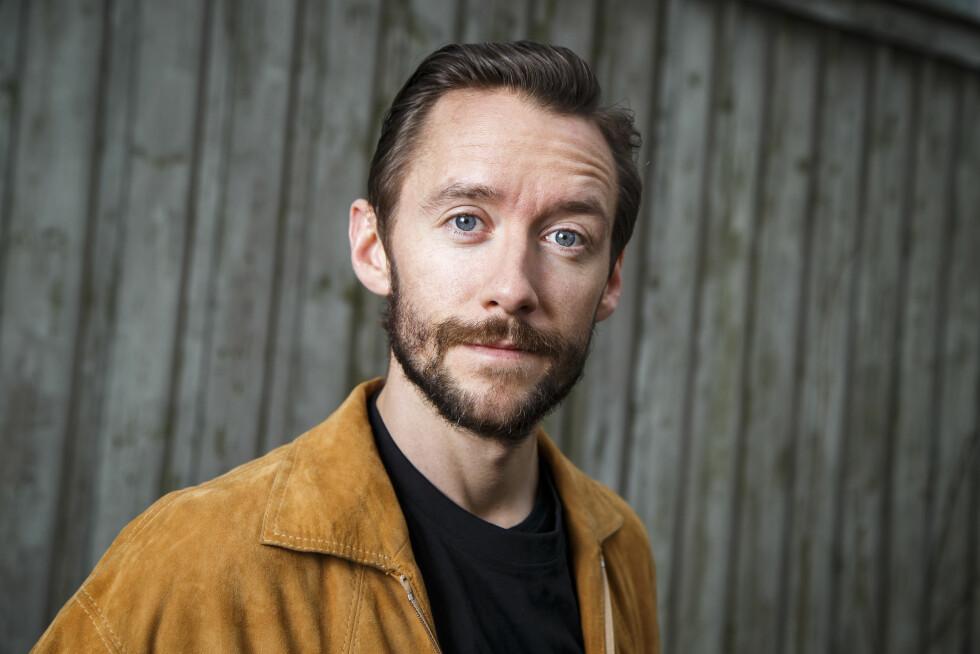 AVMAGRET: Musiker Thomas Gullestad er filmaktuell som den norske krigshelten Jan Baalsrud i Harald Zwarts nye film. Rollen krever at han går ned omlag 15 kilo. Her er han fotografert i slutten av mars.  Foto: NTB scanpix