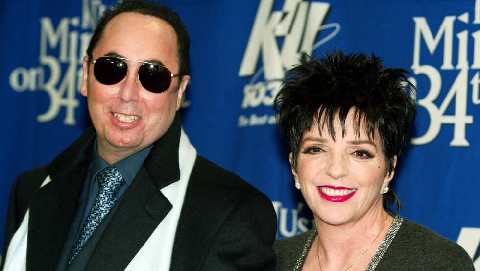 DØD: David Gest var Liza Minnellis fjerde ektemann.  Foto: NTB Scanpix