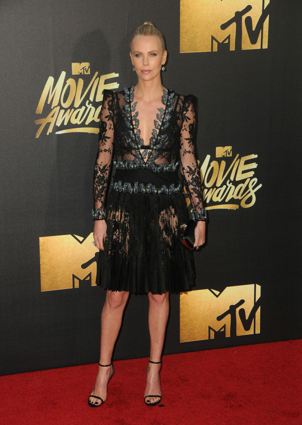 <strong>POPULÆR:</strong> Charlize Theron har hatt et hektisk år etter sin suksess i fjorårets suksessfilm «Mad Max: Road Fury». Foto: SipaUSA
