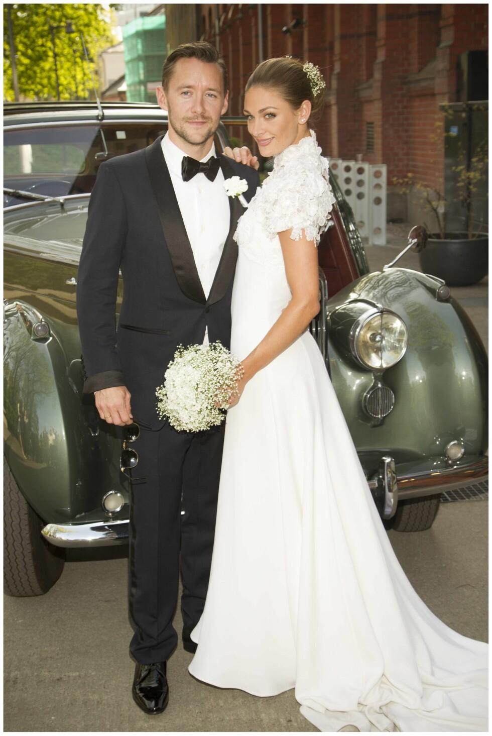 RING PÅ «FINGERN»: April 2014 giftet Thomas og Jenny seg i Oslo.