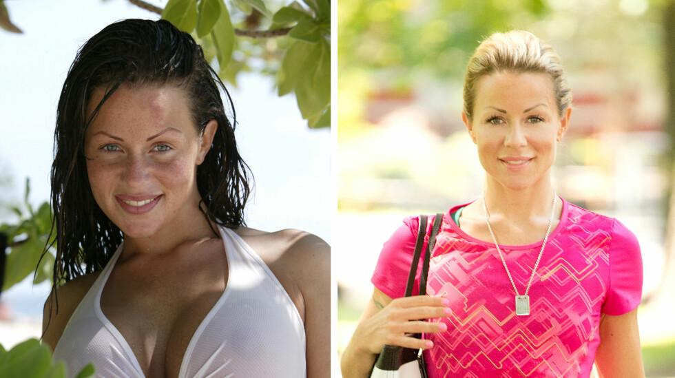 ÅPENHJERTIG: Lene Alexandra er ikke redd for å fortelle om sin dystre fortid. I et nytt innlegg på bloggen forteller hun om sine tidligere problemer med dop og spiseforstyrrelser. Bildet til venstre er fra 2004, mens bildet til høyre er fra i fjor.  Foto: NTB scanpix