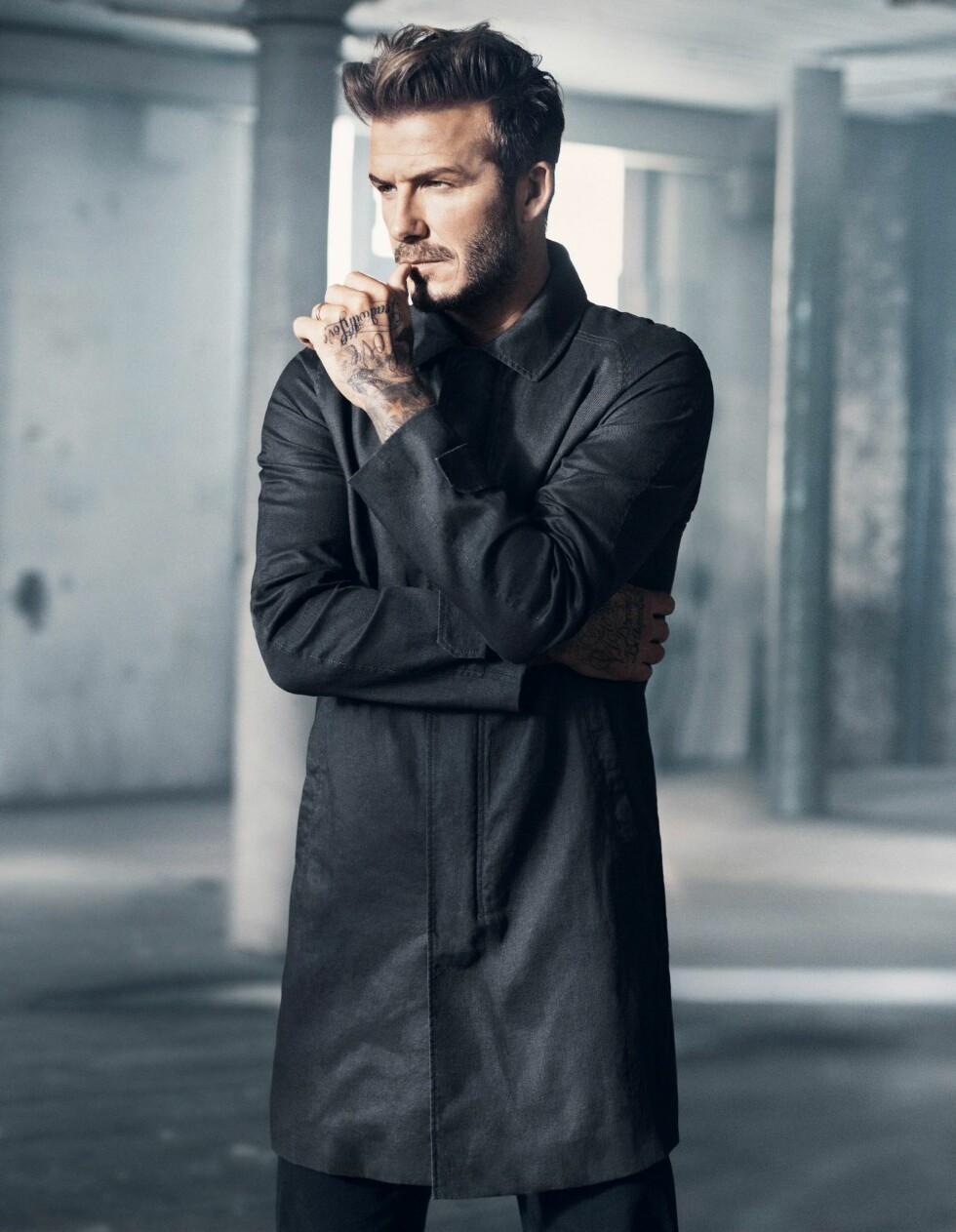 David Beckhams nye H&M-kampanje