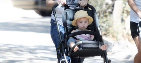 Kristen Bell fikk problemer da hun skulle slutte å amme