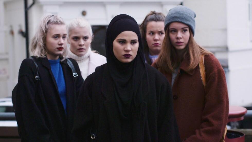 TOK NORGE MED STORM: Serien «Skam» gjør stor suksess på NRK, og i disse dager sendes andre sesong av serien.  Foto: NRK