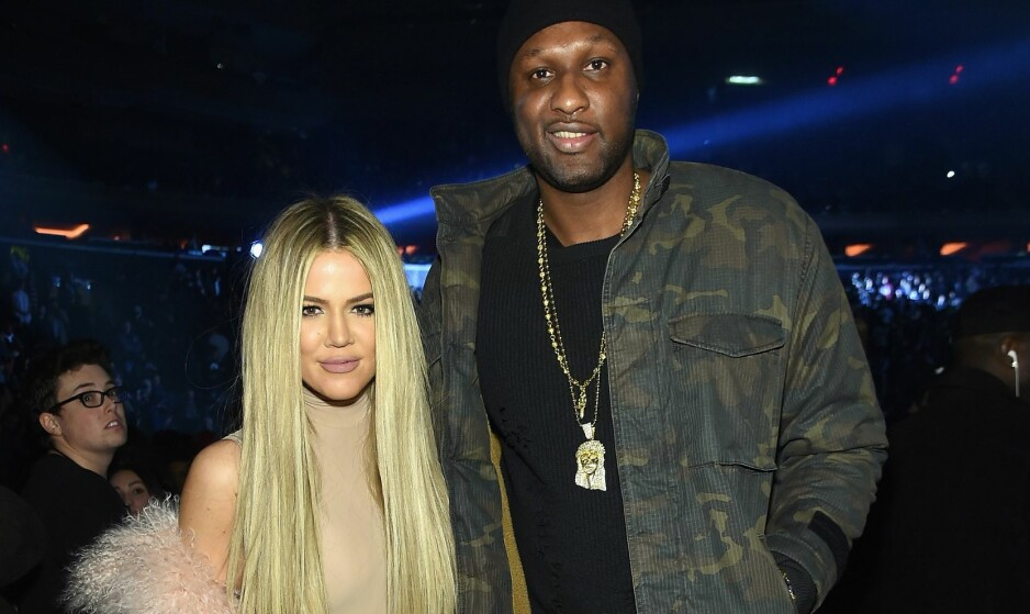 EKSPARET: Realitystjernen Khloé Kardashian og eksmannen Lamar Odom hadde et turbulent forhold i flere år. Foto: NTB Scanpix