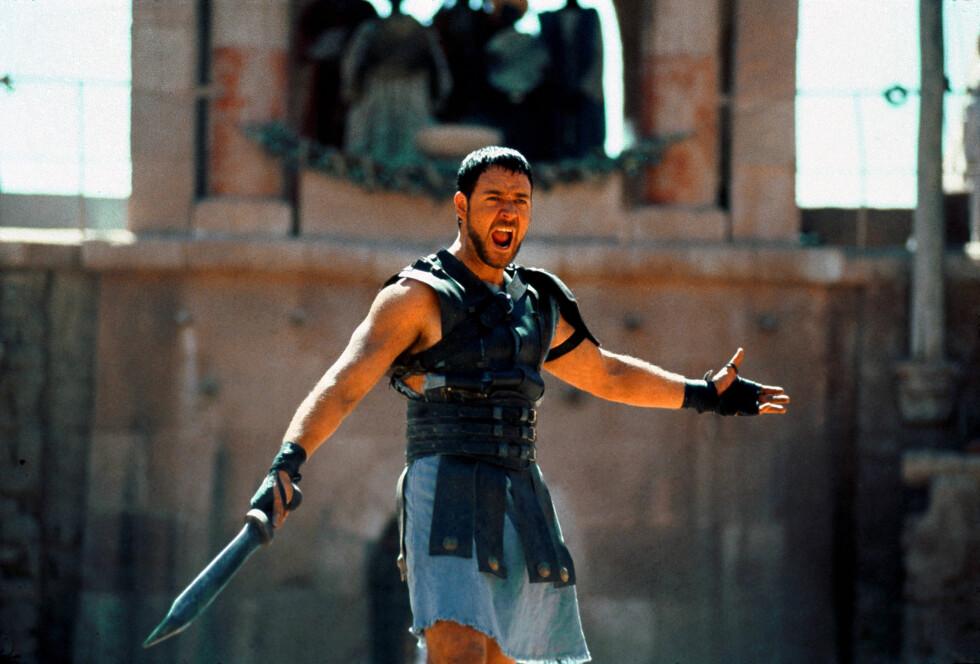BEST FORM: Hans kvinnelige fans vil nok huske ham best fra rollen i «Gladiator» fra 2000.  Foto: Mary Evans Picture