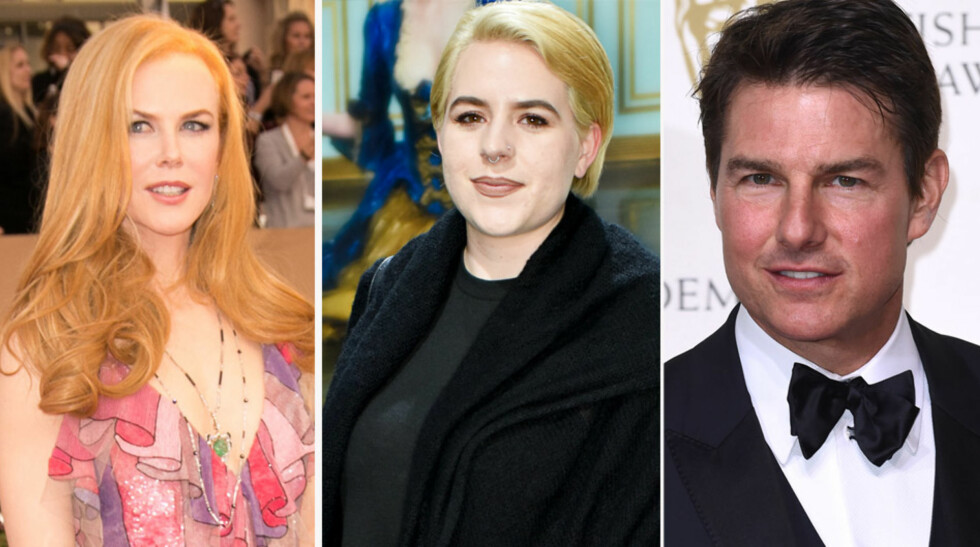 BENEKTER ISFRONT: Isabella Cruise forteller at hun har kontakt med adoptivforeldrene Nicole Kidman og Tom Cruise.
