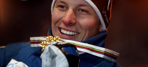 Aksel Lund Svindal smeltet om sitt første VM-gull