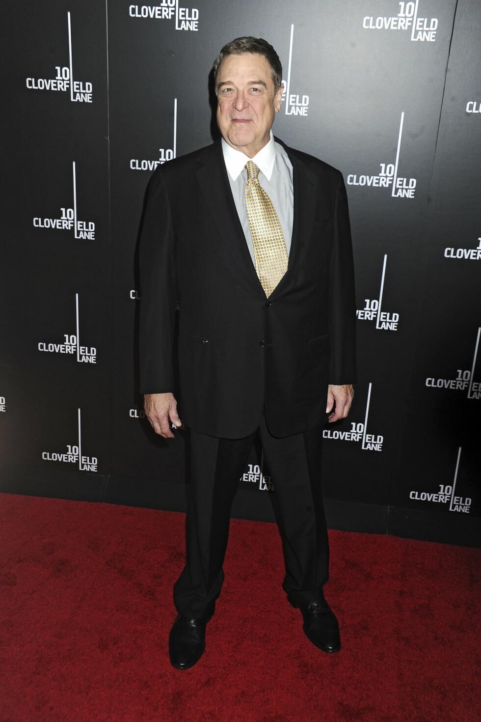 SLANKERE ENN NOENSINNE: John Goodman raste ned i vekt etter at han begynte å trene. Hvor mange kilo han har slanket vekk, vet han ikke selv.  Foto: Zuma Press