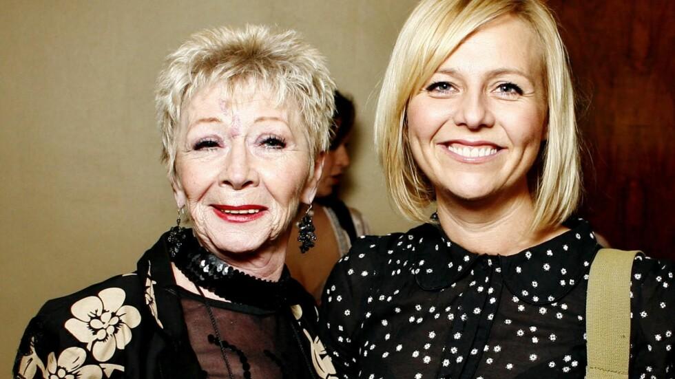 MISTET MAMMA: Søndag mistet skuespiller Linn Skåber moren Ragnhild. Hun ble 72 år gammel.  Foto: NTB Scanpix