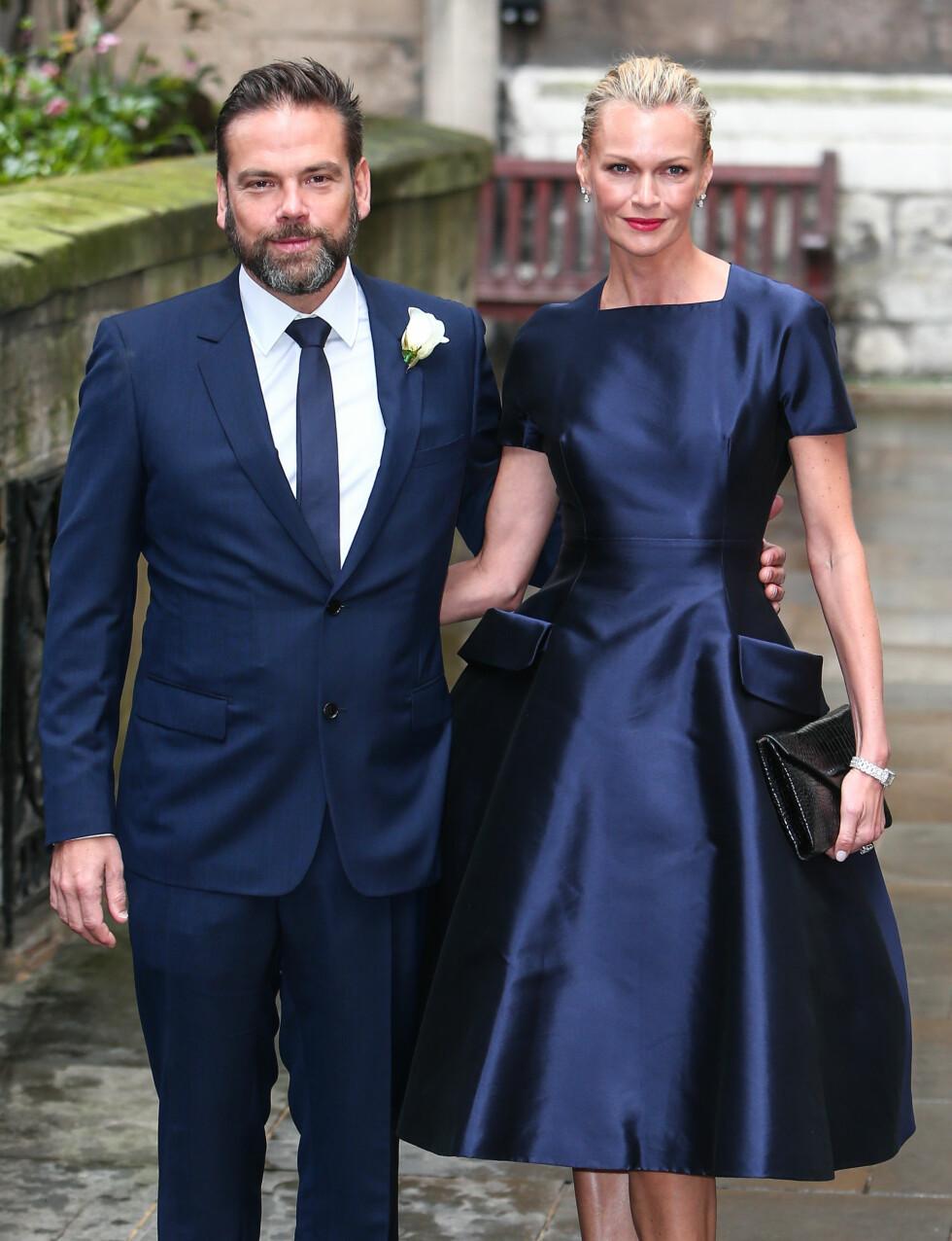 TOK MED KONA: Rupert Murdochs sønn Lachlat og kona Sarah. Foto: wenn.com
