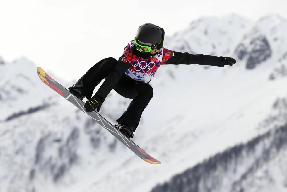 PAUSE FRA BAKKEN: Silje Norendal måtte droppe X Games i Oslo forrige helg etter hun ble hardt skadd i snowboardbakken.  Foto: Reuters