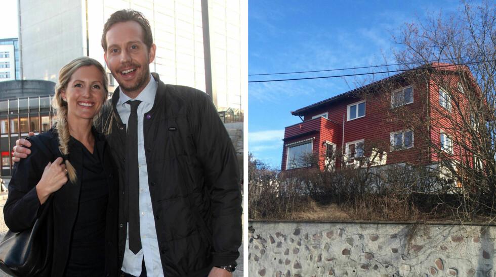 <strong>DRAMATIKK:</strong> Morten Ramm opplevde en dramatisk start på vinterferien da en lastebil kjørte inn i hans nye hjem.  Foto: Se og Hør